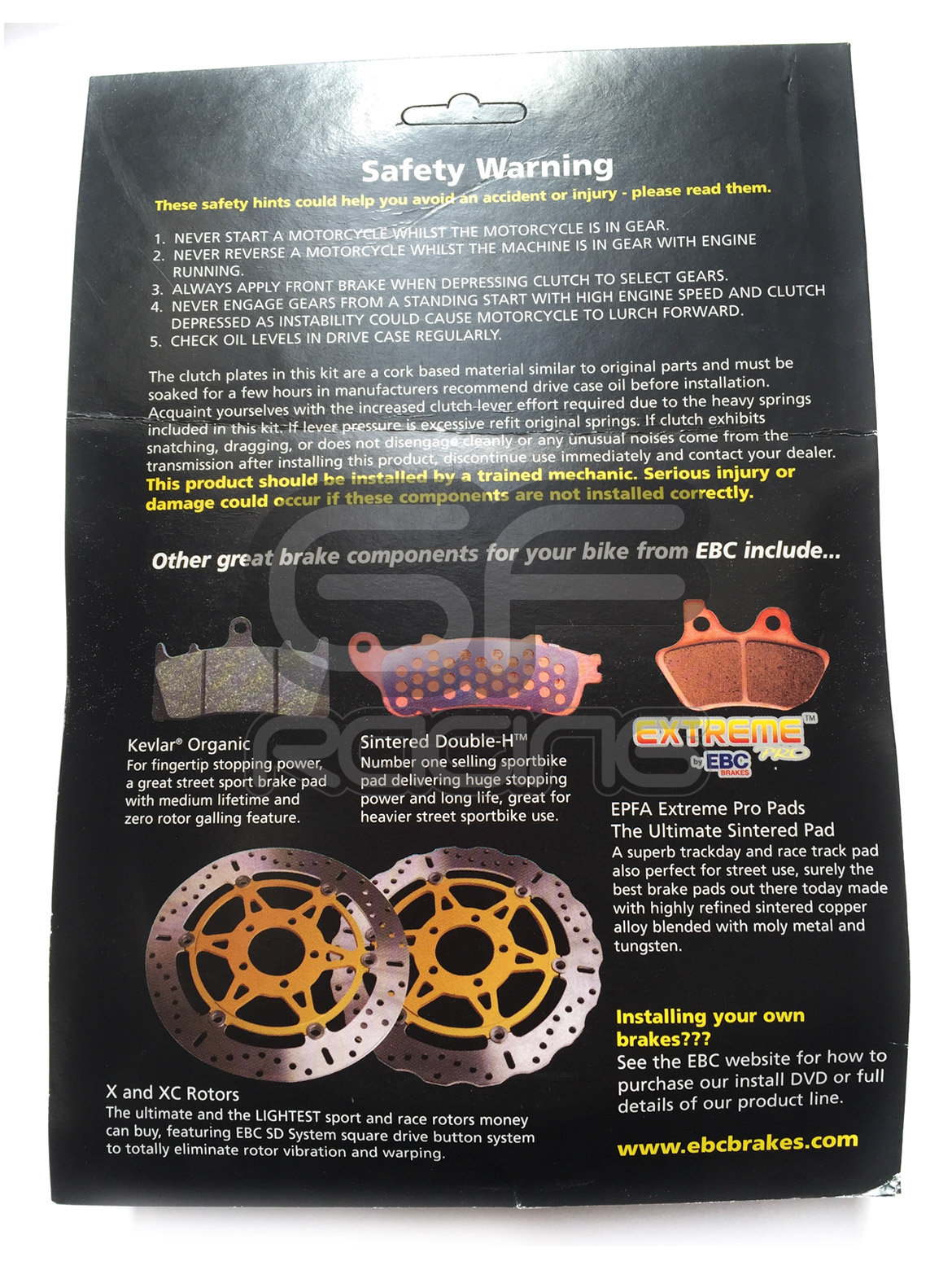 CBR400 NC29 Kevlar Clutch Kit - SRK049