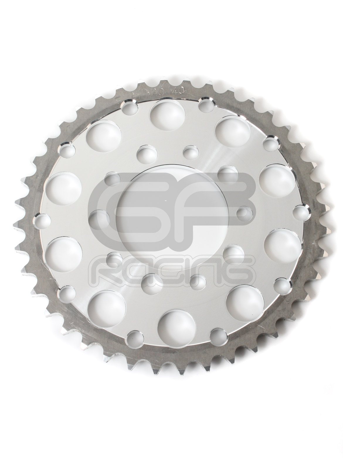 Renthal Plain Alloy Rear Sprocket Honda CBR400 NC23