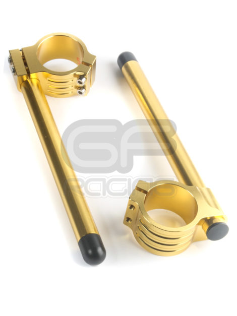 Biketek Anodised Gold Clip Ons CBR400 VFR400