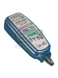 Optimate Motorcycle Lithium LFP Battery Charger 0.8A