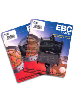 EBC Brake Pads NC30 NC35 Kevlar Organic FA187