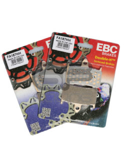 EBC Brake Pads NC30 NC35 Double HH Sintered FA187HH