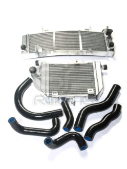 VFR400 RVF400 Alloy Top and Bottom Radiator Kit and Silicone Hose Kit