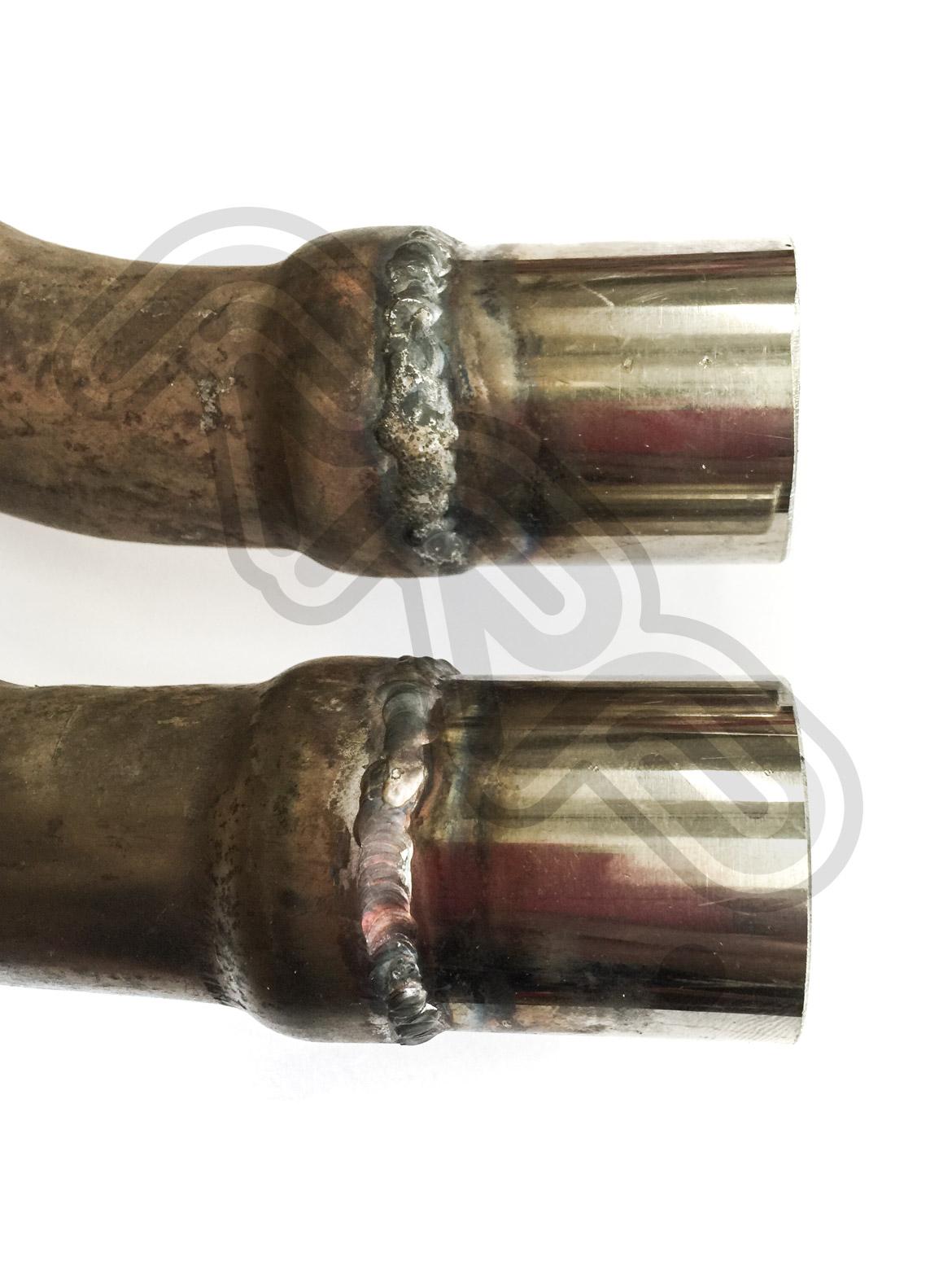 Honda VFR400 NC30 Exhaust Collector Pipe Repair Collars