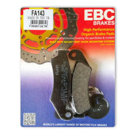 EBC Rear Brake Pads VFR400 NC30 RVF400 NC35 FA143