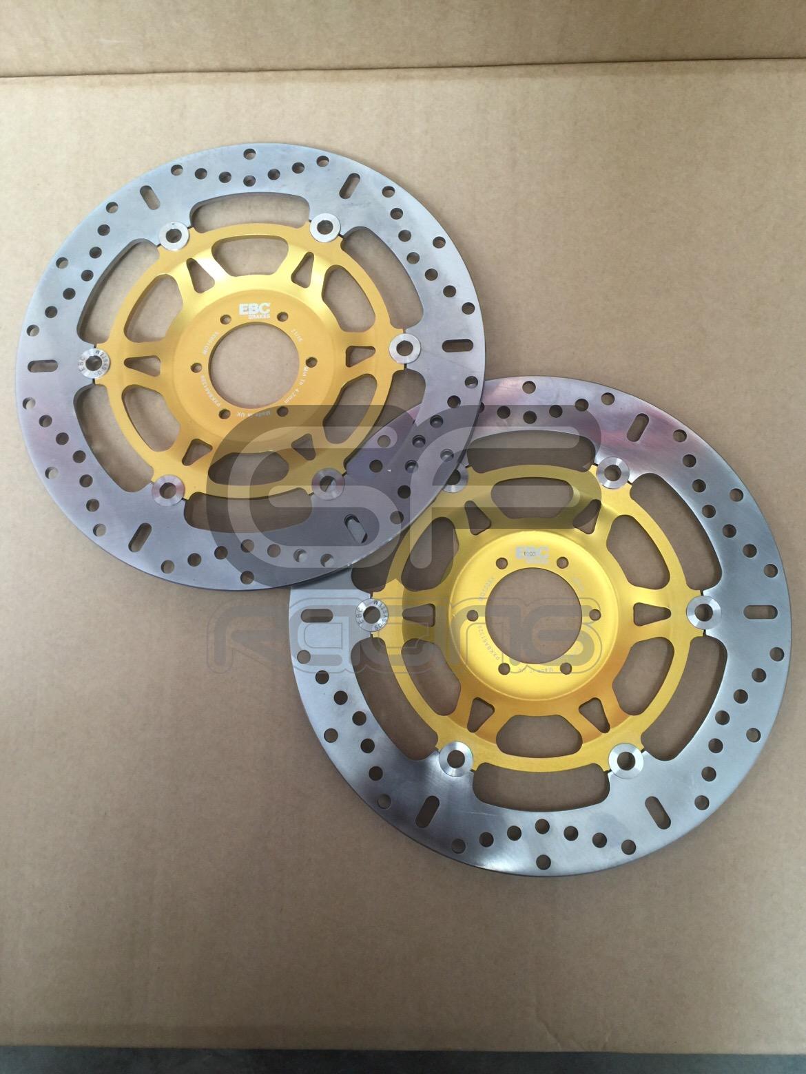 EBC Front Brake Discs CBR400 NC23 NC29 VFR400 NC30 RVF400 NC35