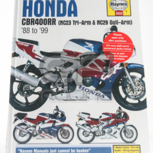 CBR400 NC23 NC29 Haynes Workshop Manual