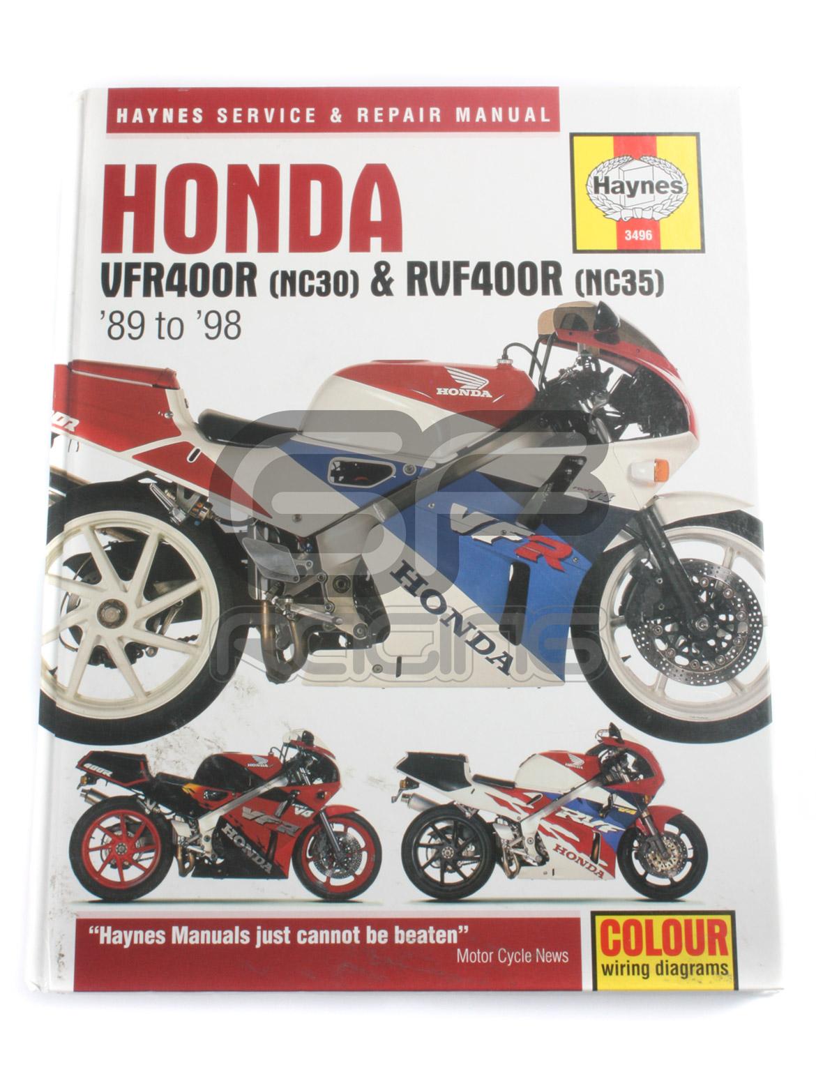 VFR400 RVF400 NC30 NC35 Haynes Workshop Manual
