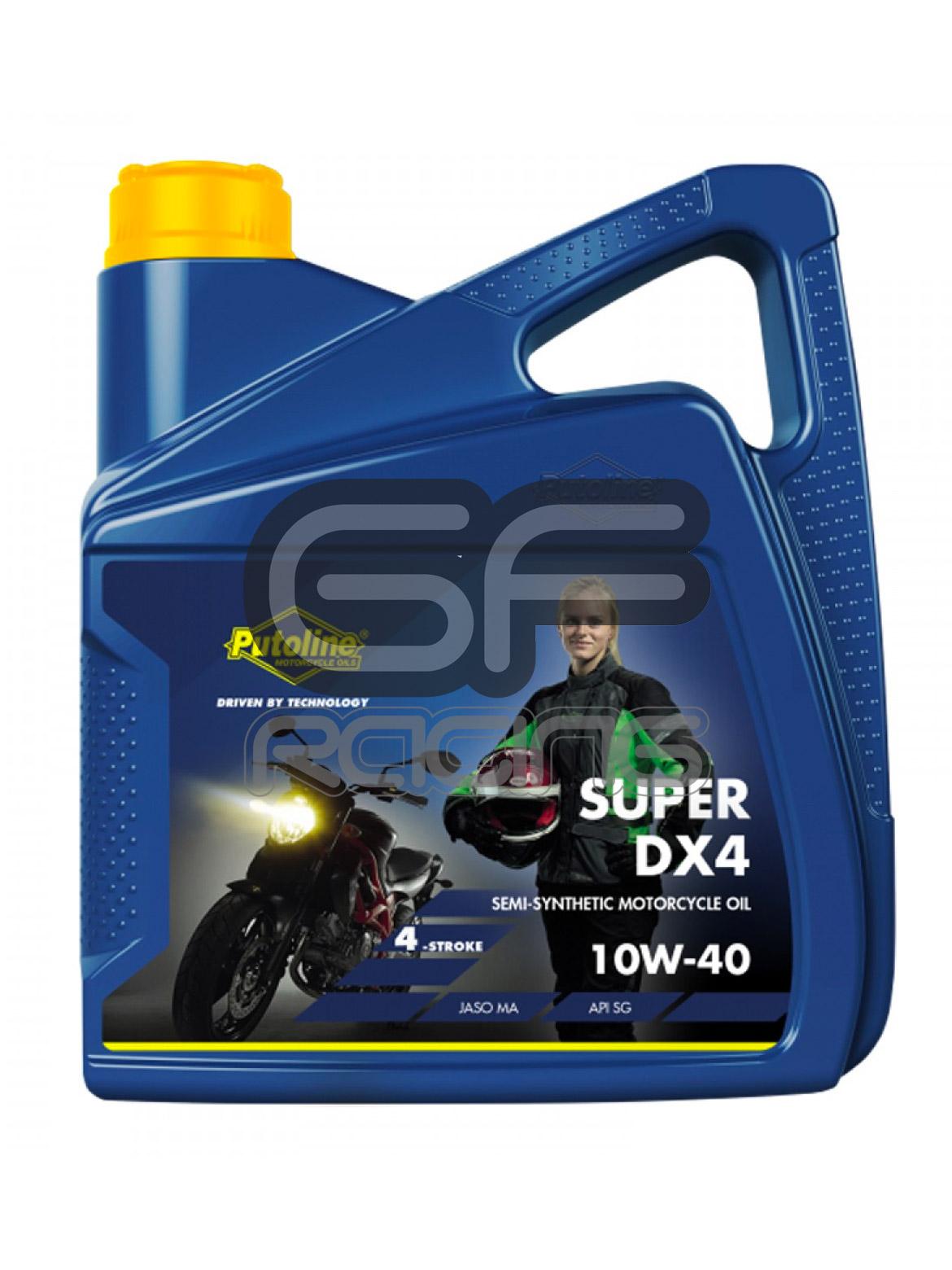 Putoline Oil DX4 Super 10W - 4 Litre