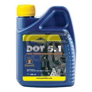 Putoline High Performance Brake Fluid DOT 5.1 500ml