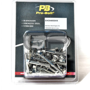 Pro Bolt PB CBR400 NC23 Stainless Engine Bolt Kit EHO048SSHX