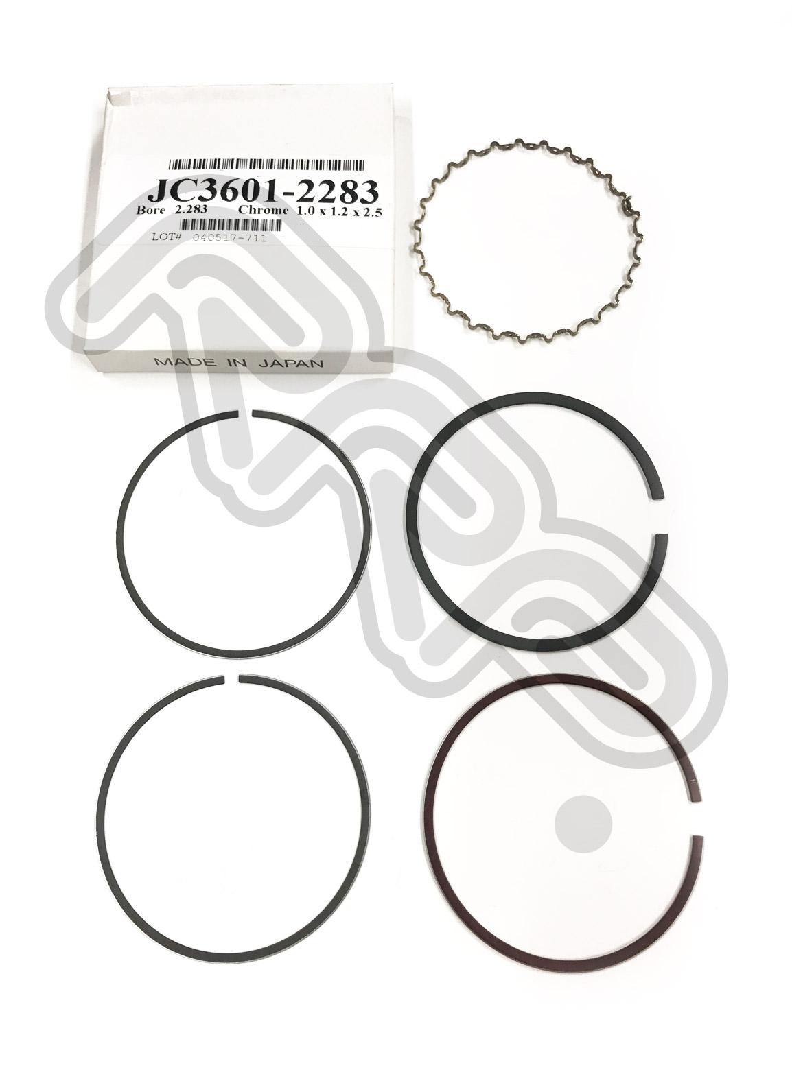 JC3601-2283 - JE Piston Ring 58mm Single Kit